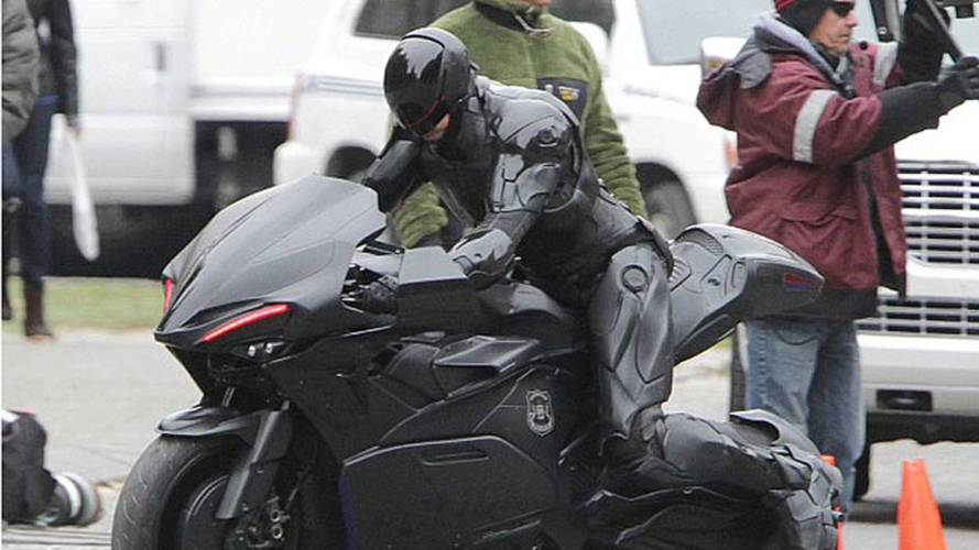 Robocop's New Motorcycle