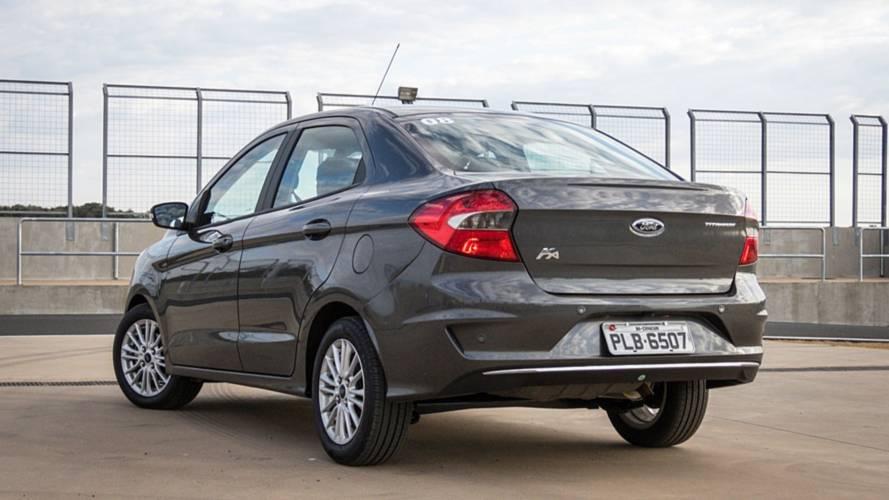 Ford Ka Sedan ganhará versão elétrica em 2019
