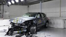 Volvo XC40 EuroNCAP törésteszt