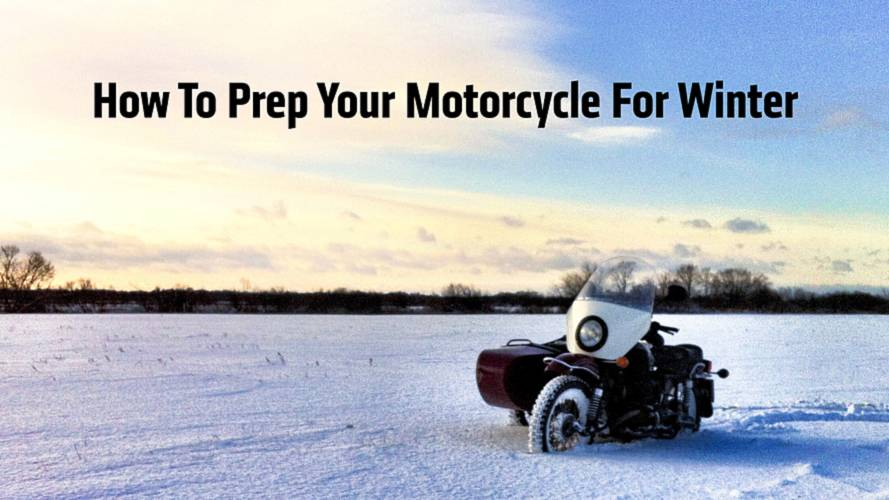 How To Prep Your Motorcycle For Winter Storage