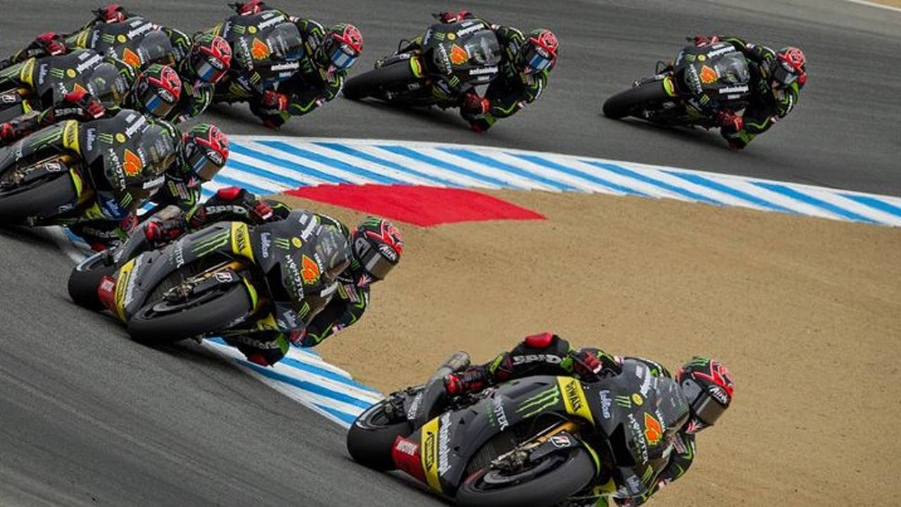 Motorcycle racing is money wasted
