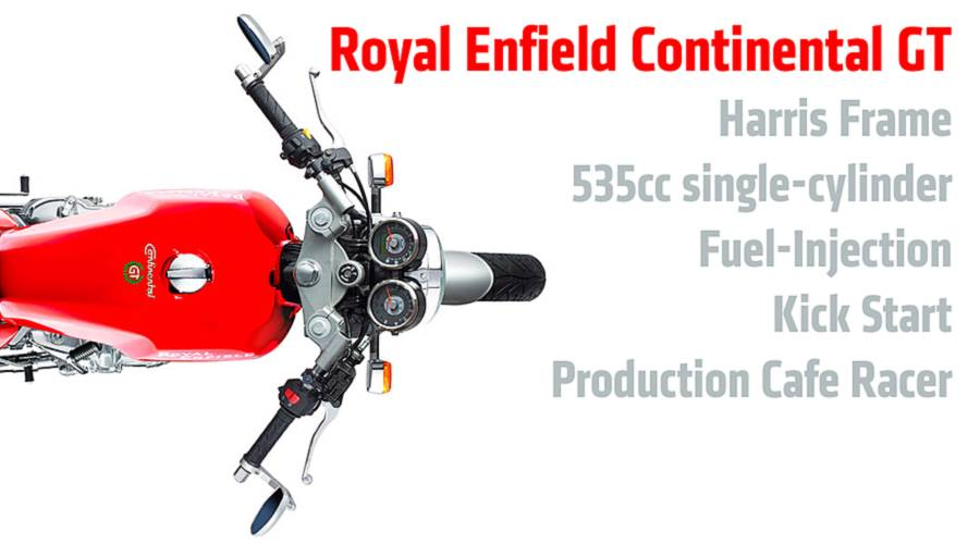 2014 Royal Enfield Continental GT: First Photos And Specs