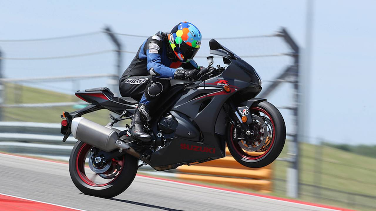 Best Gixxer Ever? 2017 Suzuki GSX-R1000 First Ride