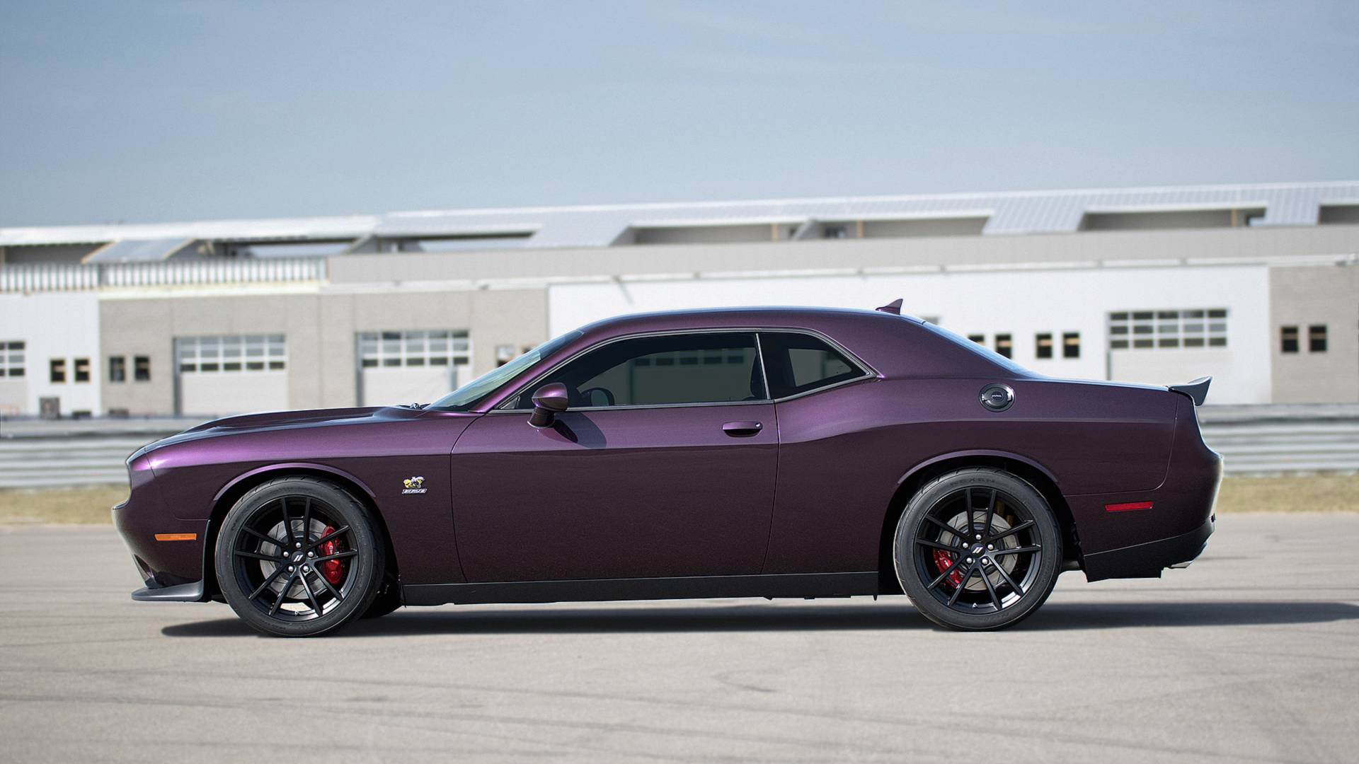 Dodge Challenger R T Scat Pack Possessed By Demon For New 1320 Trim