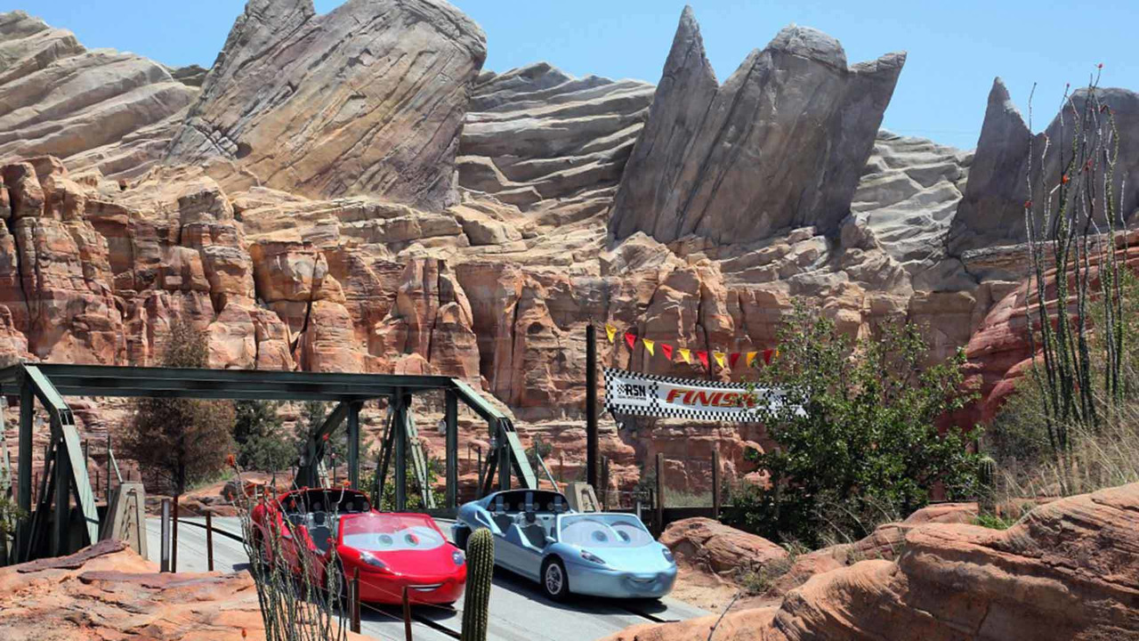 Cars Land - Disney California Adventure