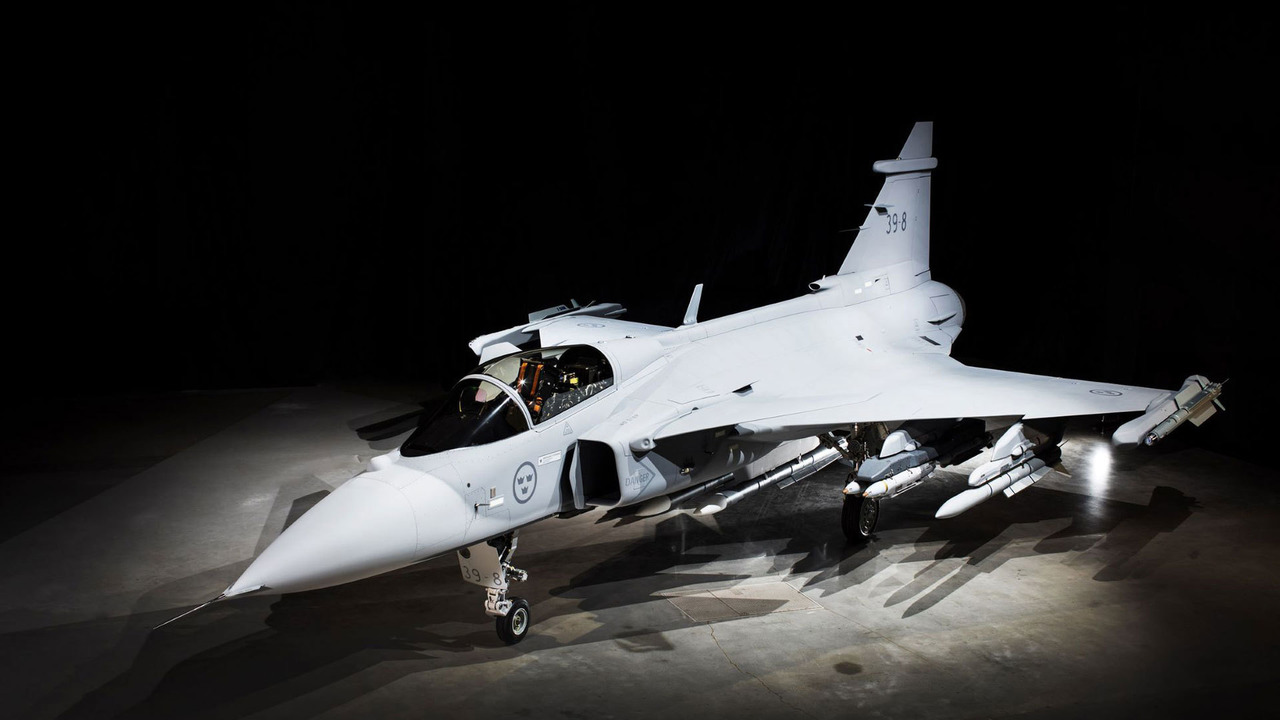 Saab: jets Fighter