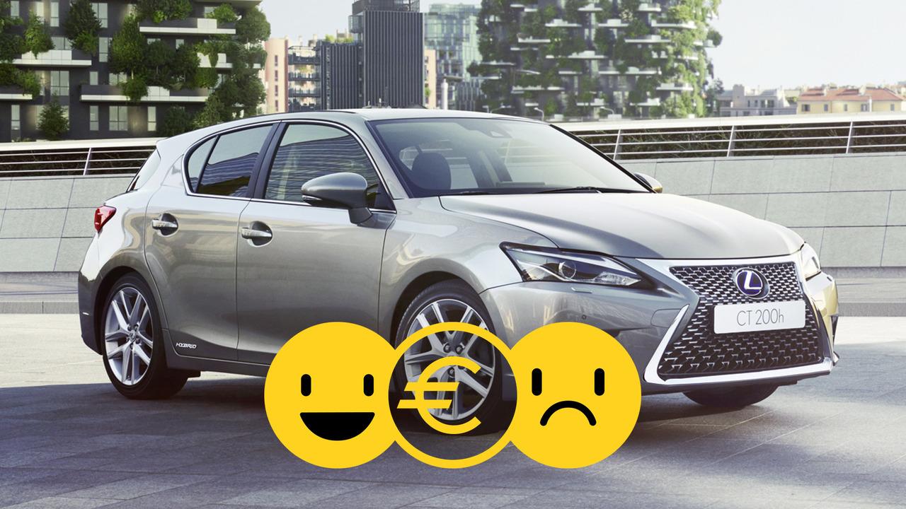 Lexus CT Hybrid, la promozione