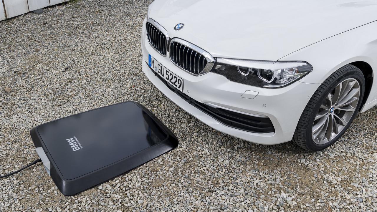 Carregador por indução - BMW