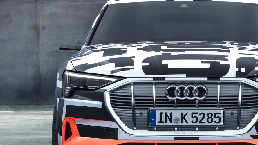 """Audi e-tron, la prima auto al mondo """"senza"""" specchietti"""