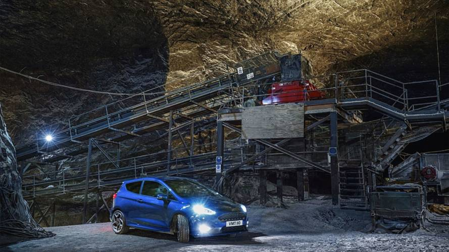 Ford загнал новую Fiesta ST под землю