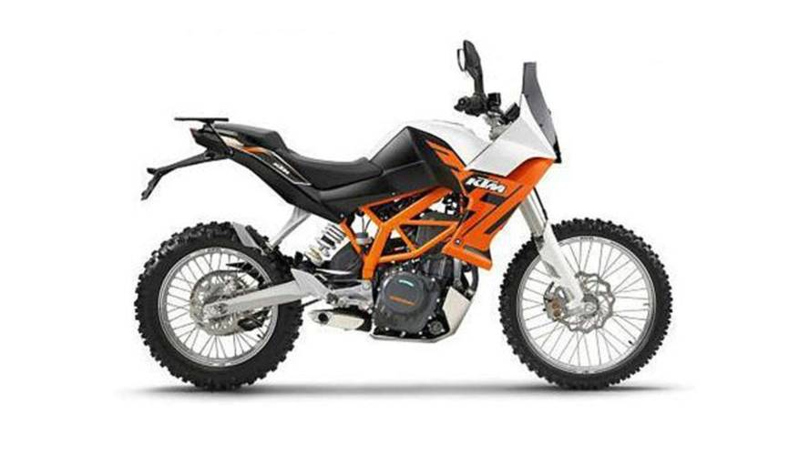 KTM 390 Adventure Now Testing In India