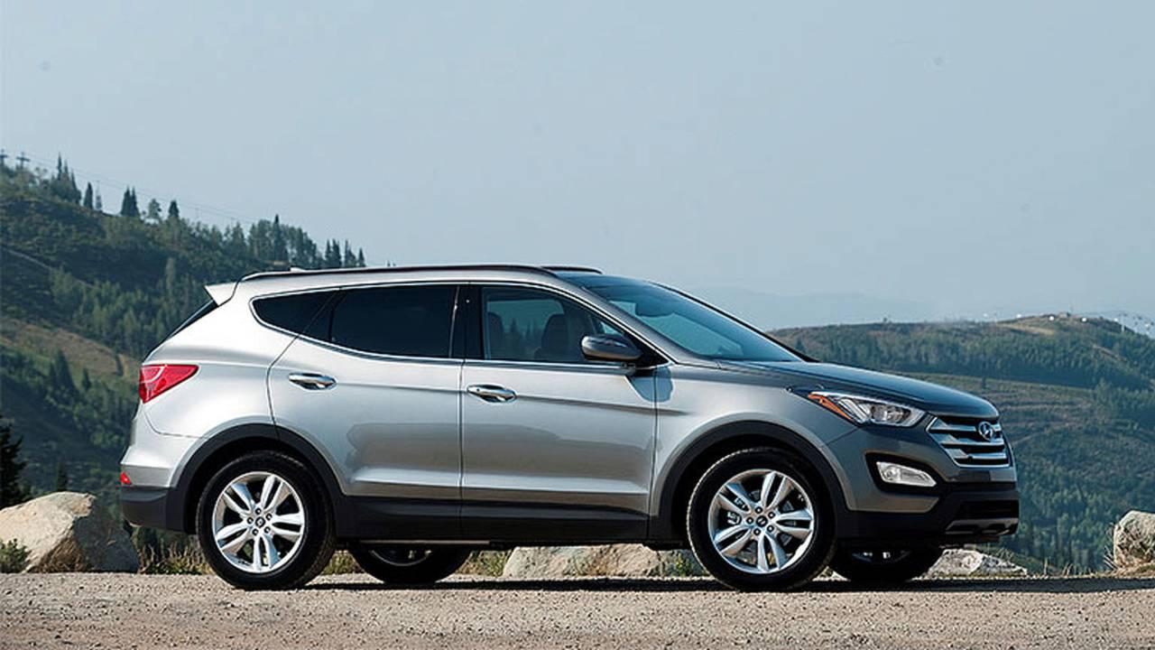 Hyundai Santa Fe Sport profile