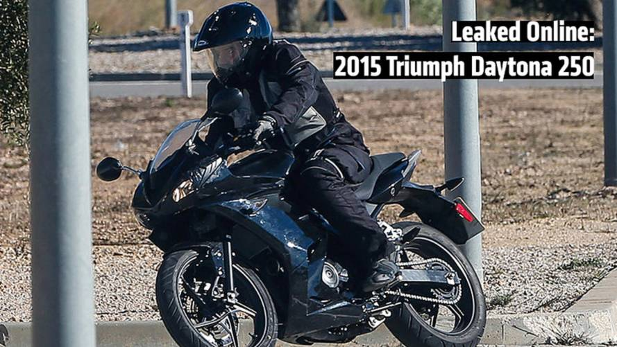 Leaked Online: 2015 Triumph Daytona 250 Spy Photos