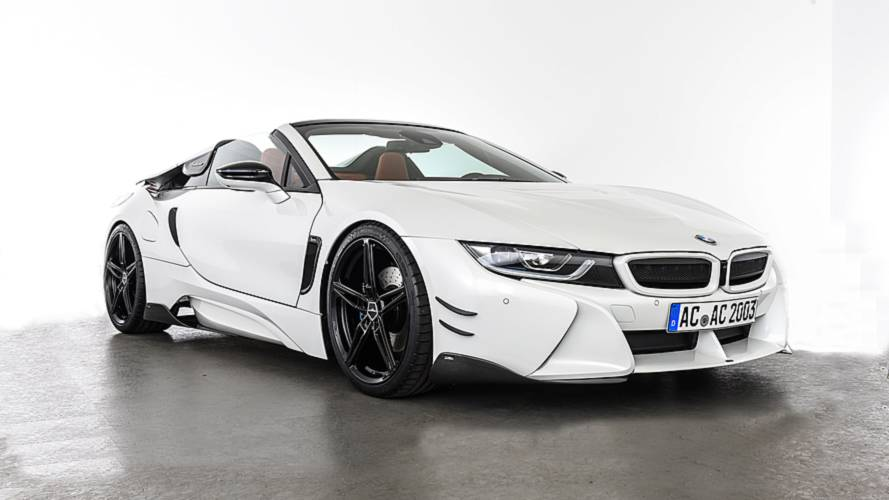 AC Schnitzer makes i8 Roadster look mean with new bodykit