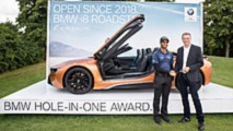 BMW hole-in-one award
