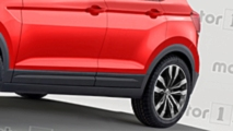 Volkswagen T-Cross renderkép