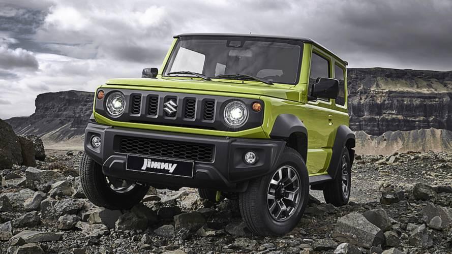 В новом Suzuki Jimny для России не будет джакузи