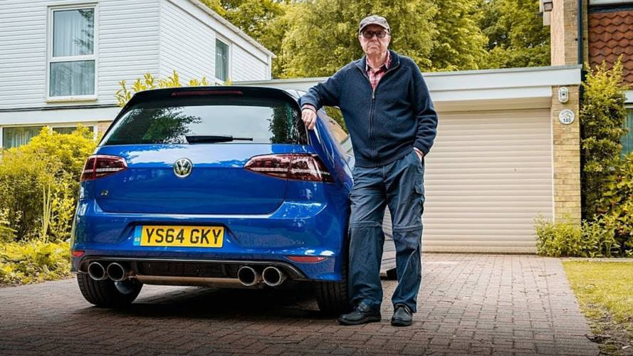 75-year-old UK man doubled the power of his VW Golf R
