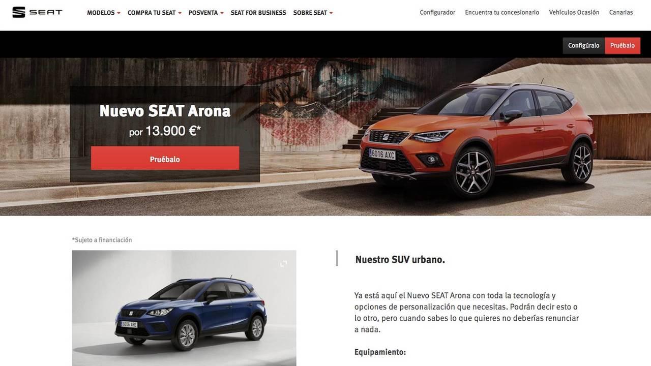 SEAT Arona 2018, desde 13.900 euros