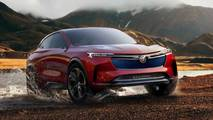buick coupe crossover cleared production