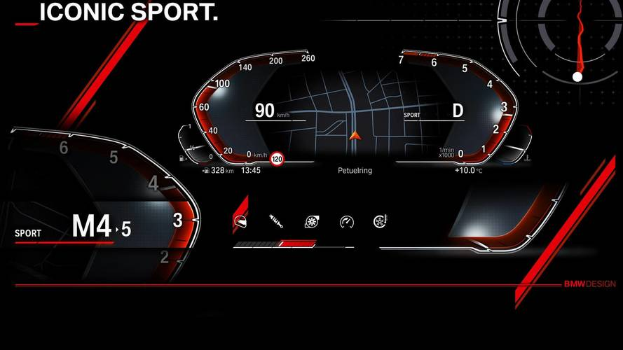 BMW Gives An Early Look At New Digital Instrument Cluster