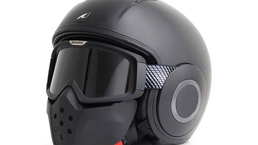 Shark Streetfighter helmet: another face mask
