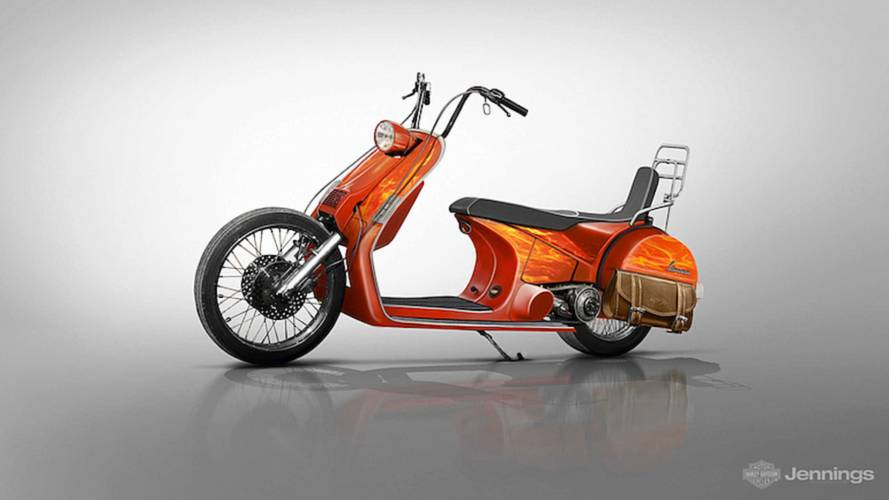 What If Vespa Built Motorcycles?