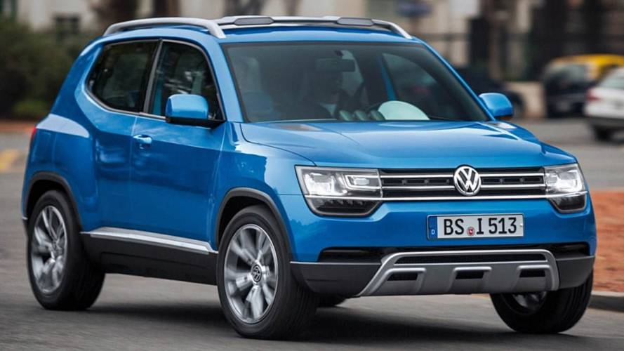 Újabb Volkswagen városi terepjáró jöhet 2022-ben