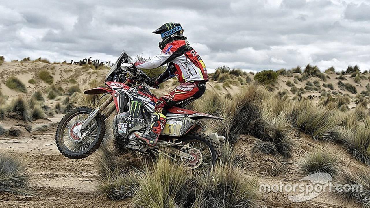 Dakar Stage 8 Results