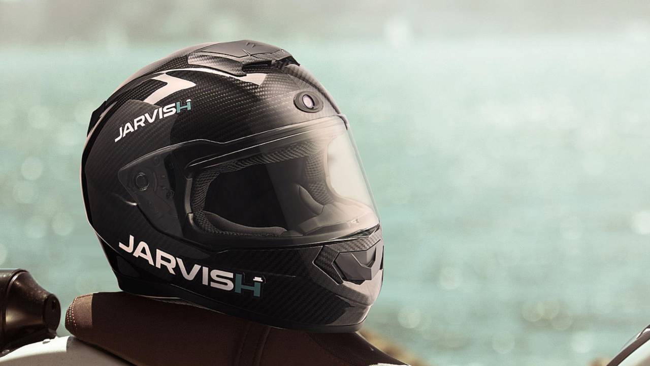 New Jarvish Smart Helmets with HUD and Camera