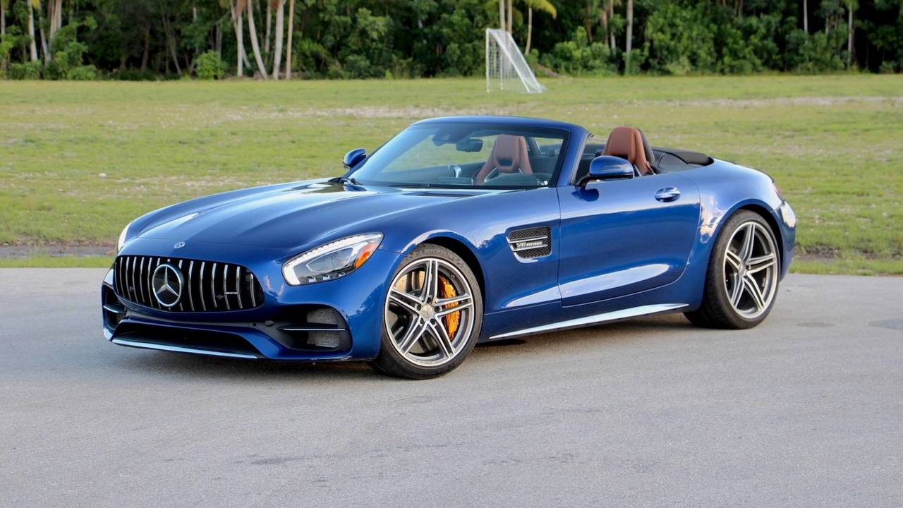 2018 Mercedes-AMG GT C Roadster Review: Performance Over ...