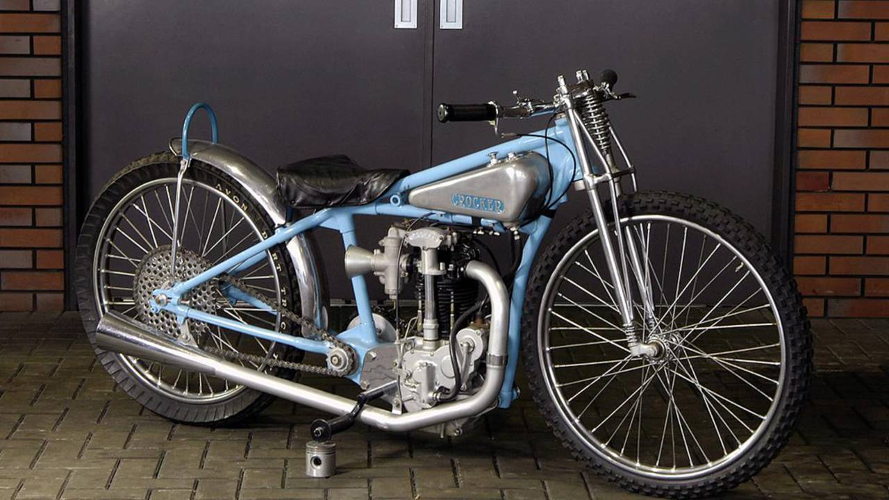 1934 Crocker Speedway Racer. Photo courtesy of MidAmerica Auctions.