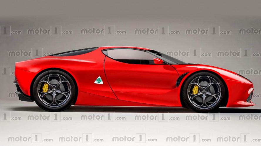 Ferrari-szintű teljesítménnyel jöhet az új Alfa Romeo 8C