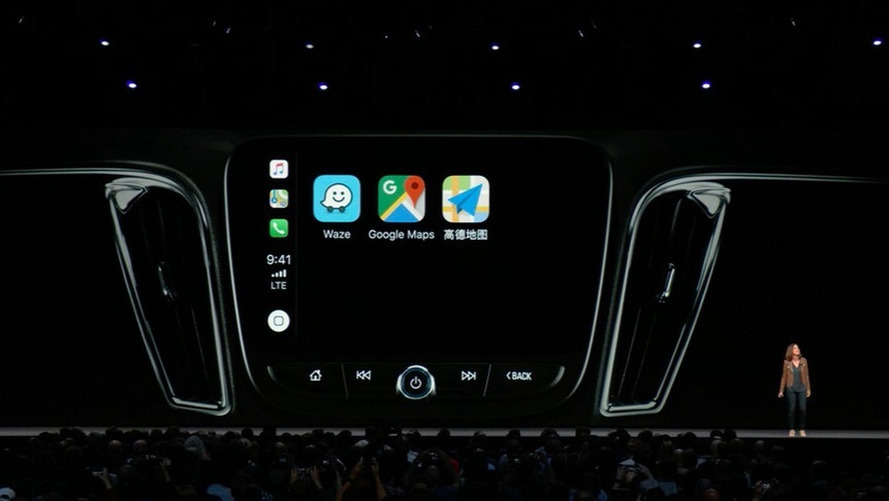Apple CarPlay com Waze