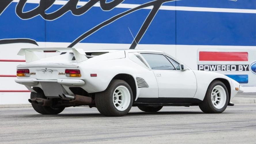 Este De Tomaso Pantera GT5-S sin motor puede ser tuyo