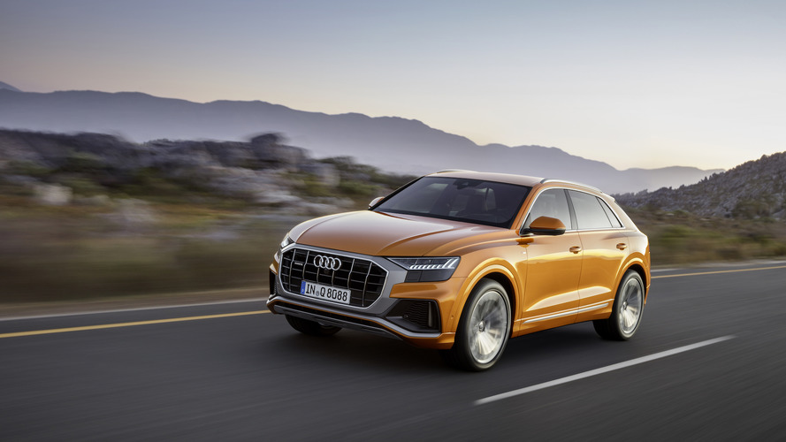 2019 Audi Q8 official photos