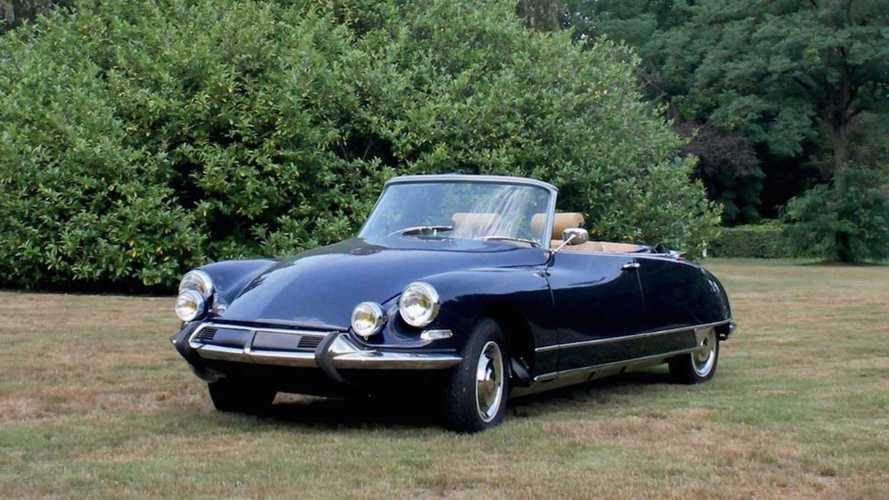 Este espectacular DS 21 Cabriolet, de 1966, acaba de venderse
