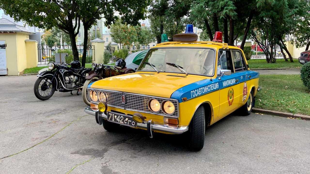 ВАЗ-2103 «Жигули» на службе в ГАИ