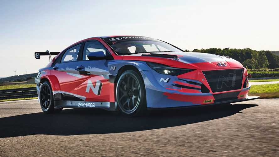 Hyundai Elantra N TCR Revealed As Fully Fledged Race Car