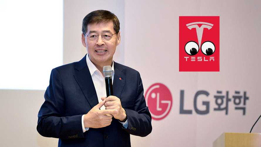 Tesla Is Willing To Buy Stake In LG Energy Solution