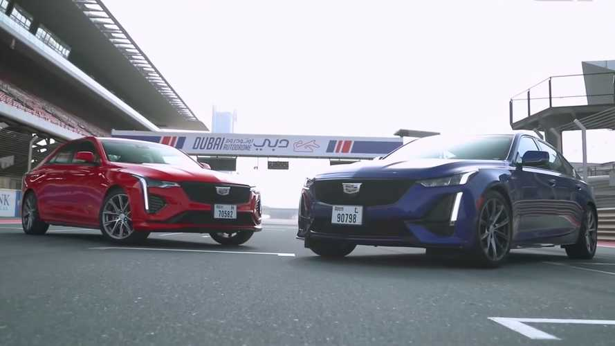 Can The Cadillac CT4-V Keep With The CT5-V In A Drag Race