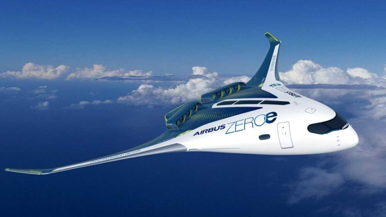 Airbus, tre concept di aerei ad idrogeno