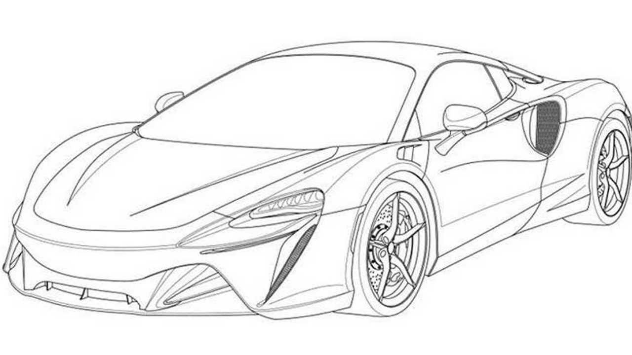 Supercar hybride McLaren