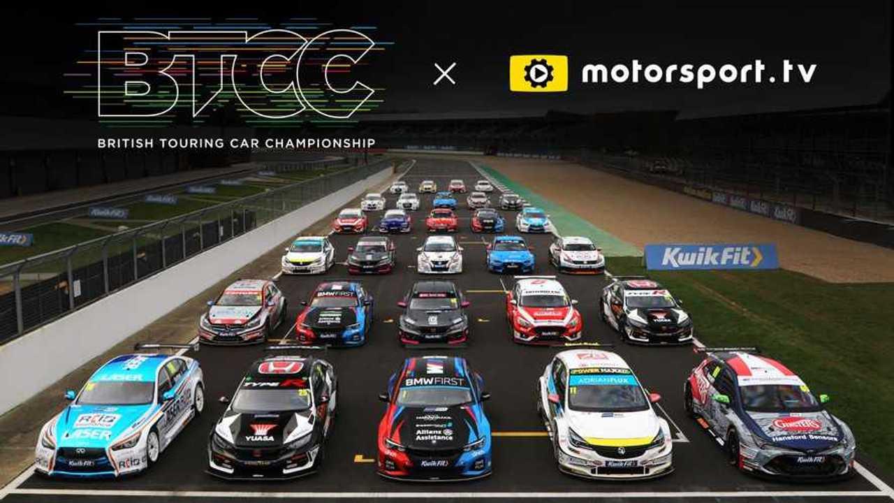 BTCC joins Motorsport.tv announcement