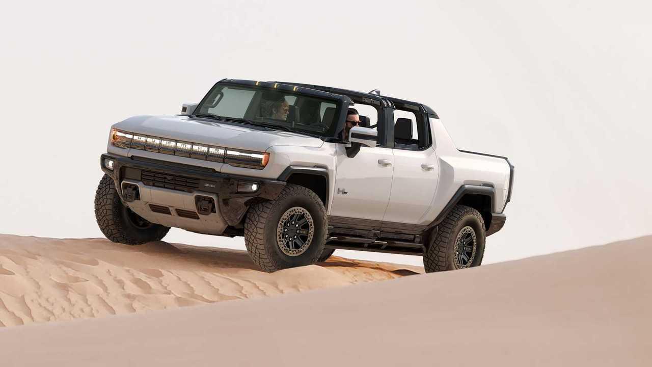 2022 GMC Hummer EV Dune