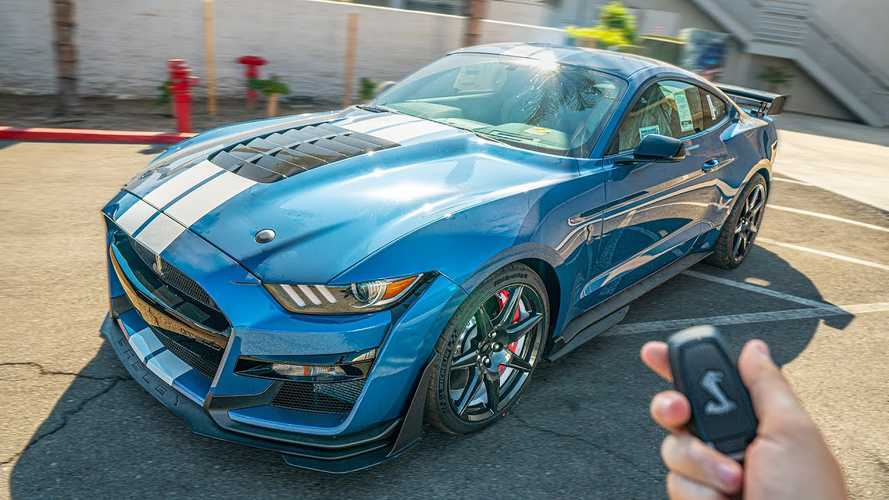 See $106,000 Mustang Shelby GT500 Go Through Pre-Delivery Inspection