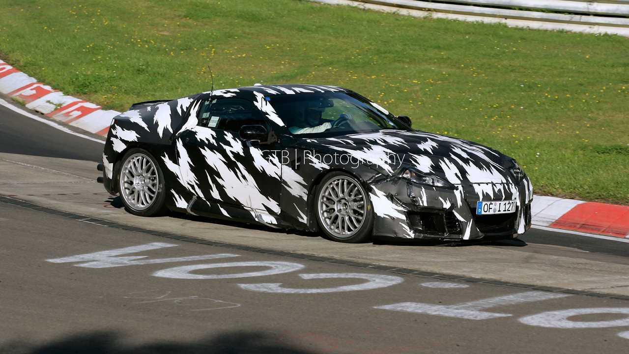 2008 Acura NSX spy shot