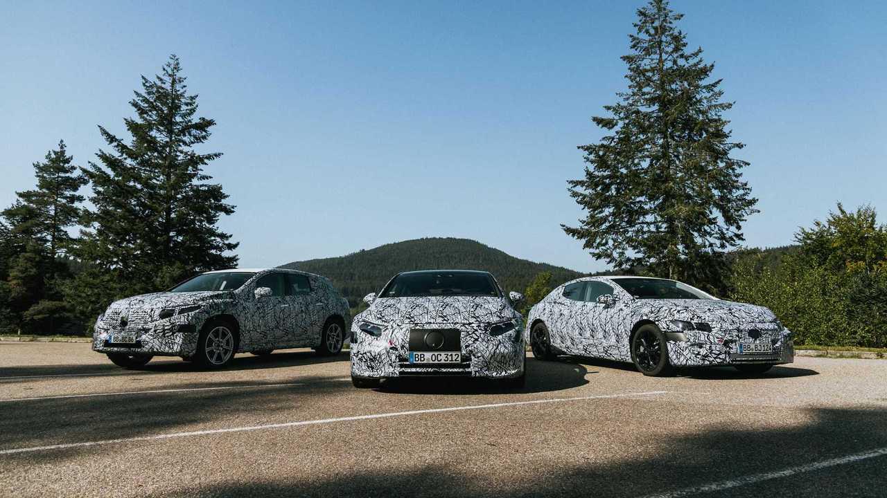 Nuova piattaforma elettrica Mercedes