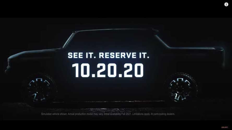 GMC Hummer Electric Pickup Truck Teaser Video: Big Words, Little Details