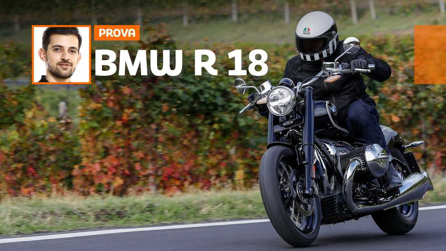 BMW R 18 First Edition, la prova su strada